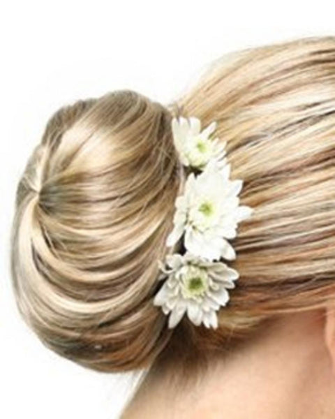 Elegance Braided Bun UpDo Formal Wedding Prom by EasiHair Hairpieces