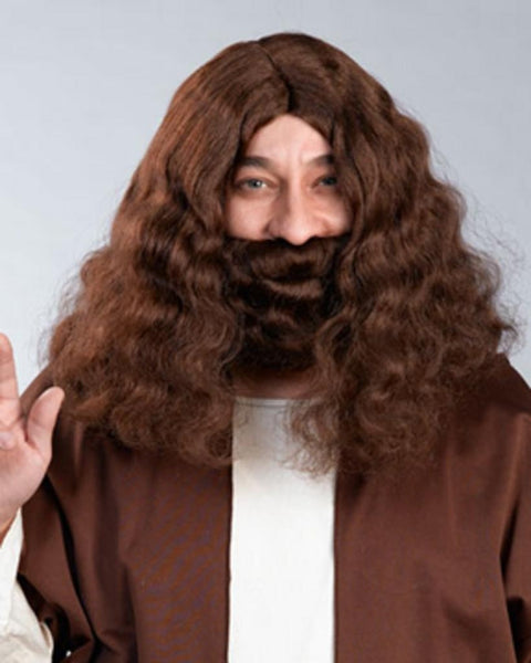 Jesus Biblical Mustache Wig Set by Enigma Costume Wigs