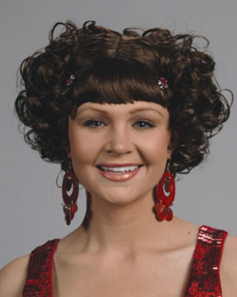 Curly Clip by Enigma Costume Wigs