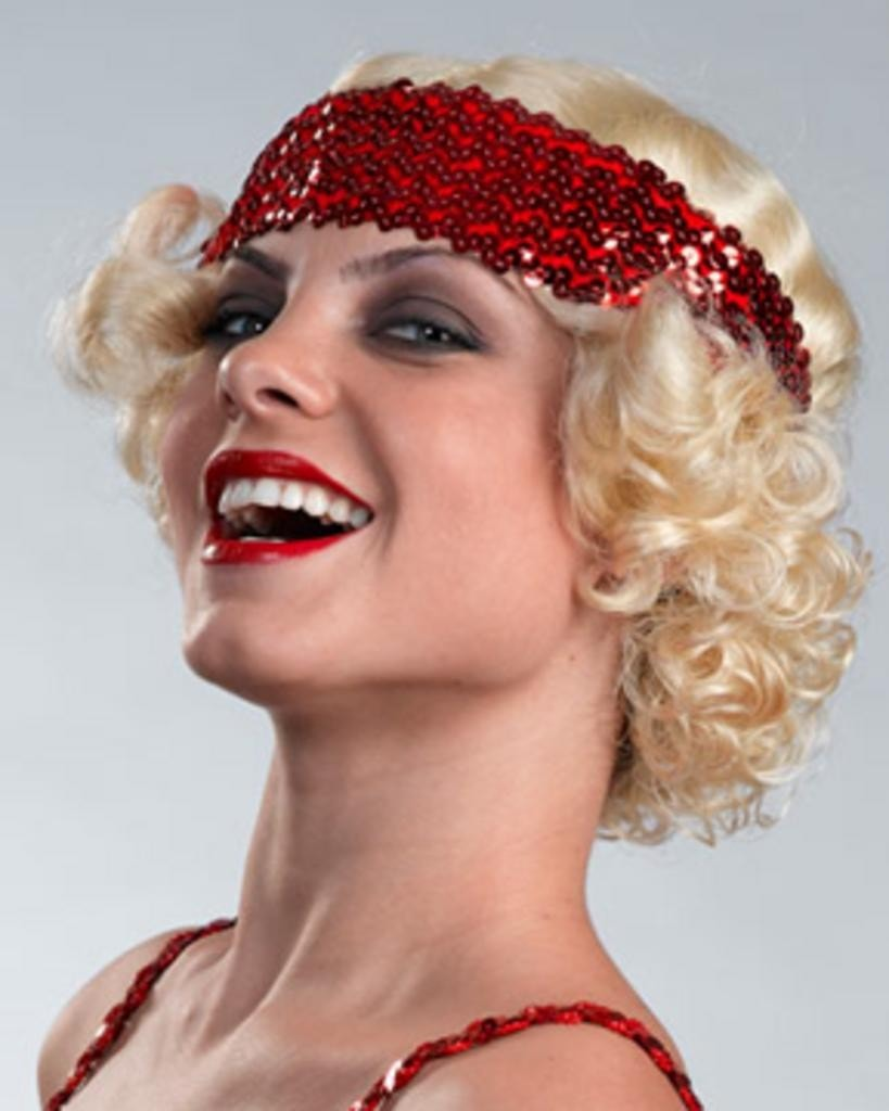 Erica Flapper 20s CLEARANCE by Enigma Costume Wigs