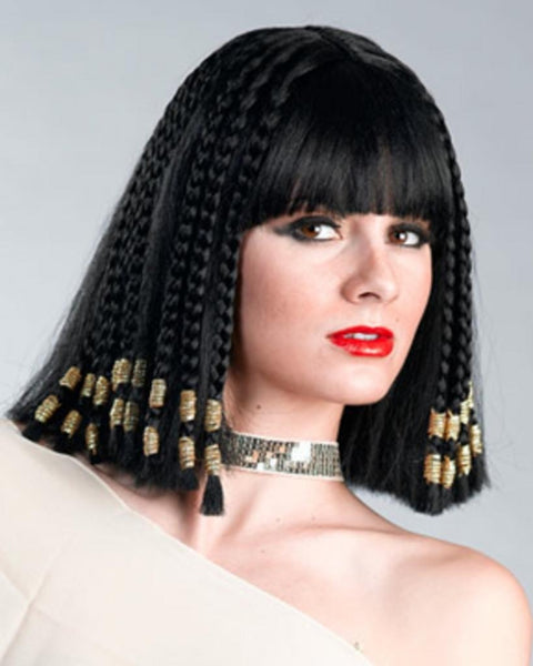 Egyptian Cleopatra Nefertiti Queen by Enigma Costume Wigs
