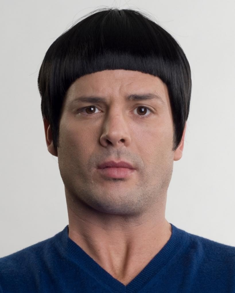Spaceman Spock by Enigma Costume Wigs