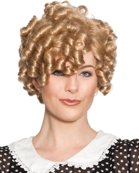 Dimples Shirley Temple Deluxe by Enigma Costume Wigs