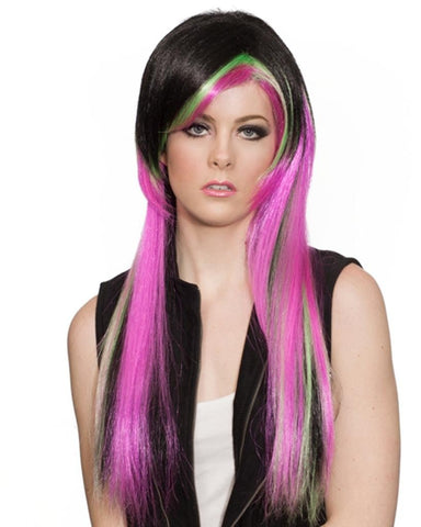 Emo Anime Pink by Enigma Costume Wigs