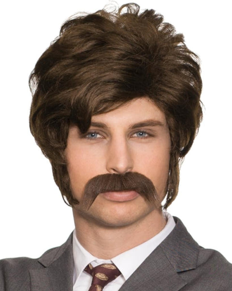 Chip 70s Police Detective by Enigma Costume Wigs