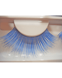 Lacey Costume Royal Blue Eyelashes - MaxWigs