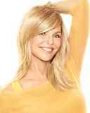 Christie Brinkley Full Sweeping Side Fringe Bang Hairpiece - MaxWigs