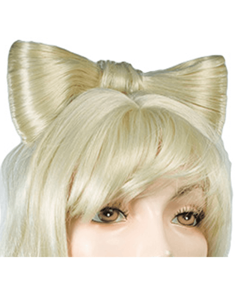 Lacey Costume Gaga Hair Bow Attachment - MaxWigs