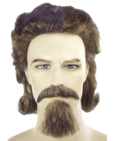 Lacey Costume General Custer Costume Wig Mustache Goatee Set - MaxWigs