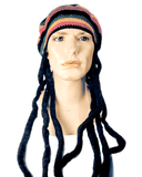 Lacey Costume Hat with Dreads - MaxWigs
