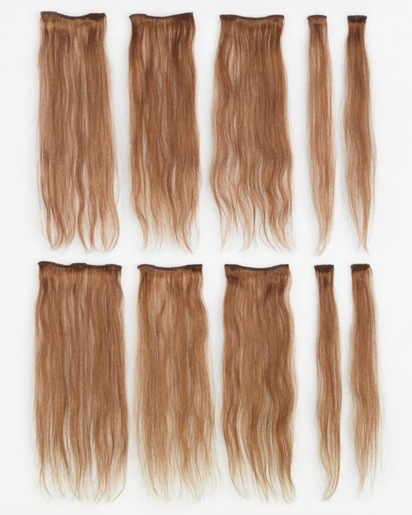 HairDo 10 Piece Human Hair CLEARANCE - MaxWigs