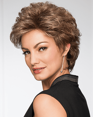 Eva Gabor Instinct Petite/Average Size - Short Shag - MaxWigs