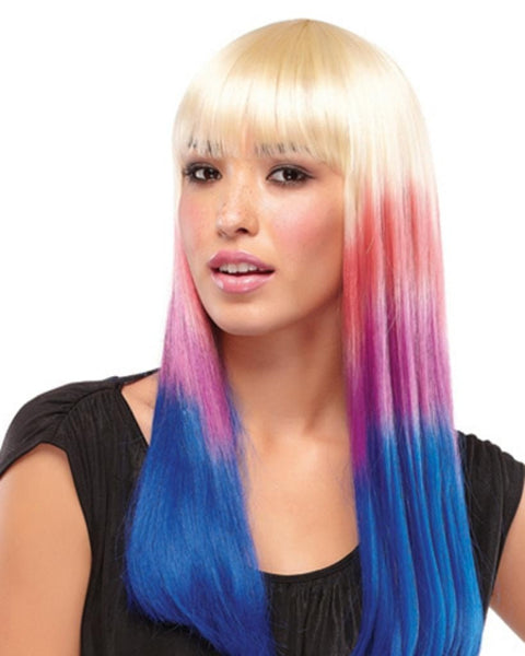 Party Girl Candy Stripe by Jon Renau Costume Wigs