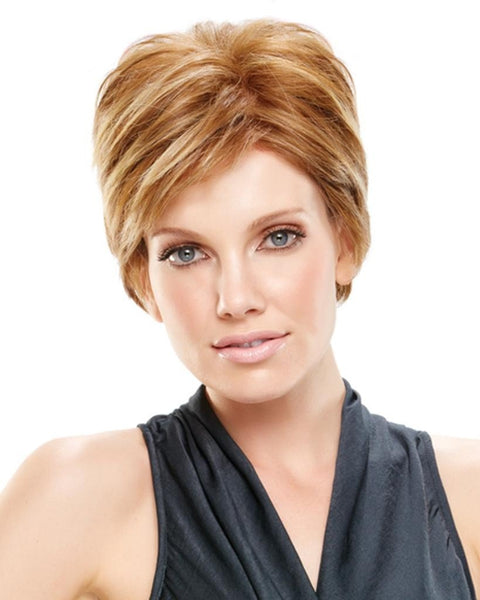 Anne Short Heat Friendly Mono Top Hand Tied by Jon Renau Wigs