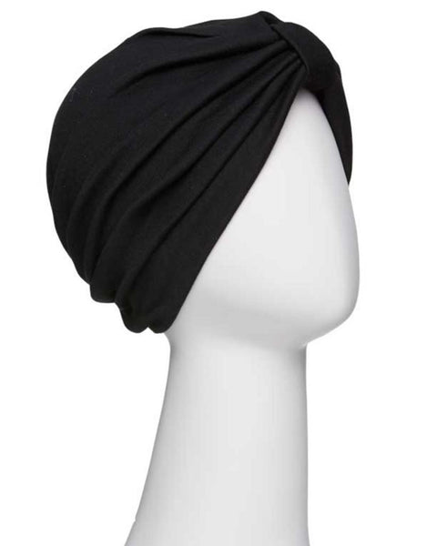 Poly Cotton Turban by Jon Renau Headwear