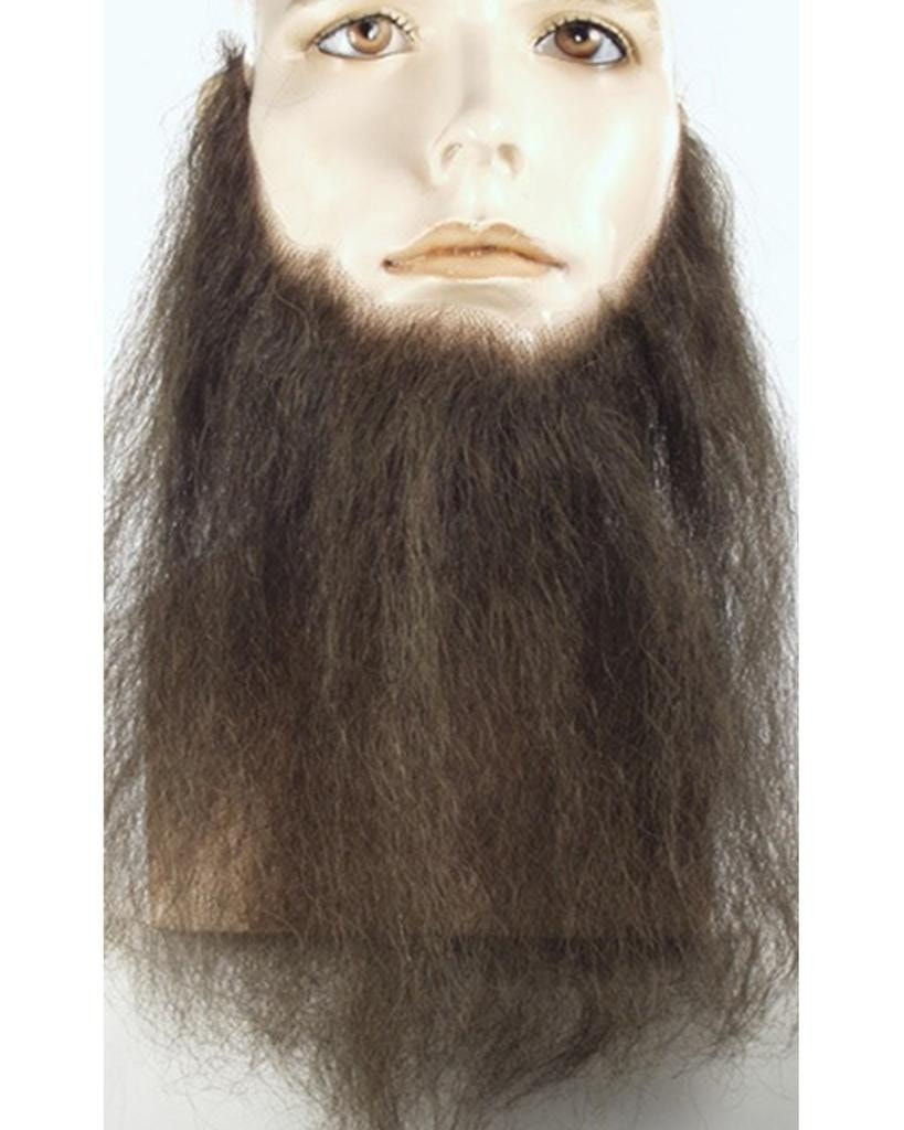 "10"" Long Human Hair Full Face Beard Duck Dynasty by Lacey Costume Costume Beards"