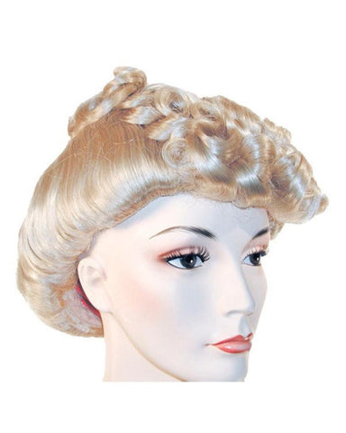 1940s Pompadour Rita Hayworth Ethel Merman Actress Wig by Lacey Costume Costume Wigs