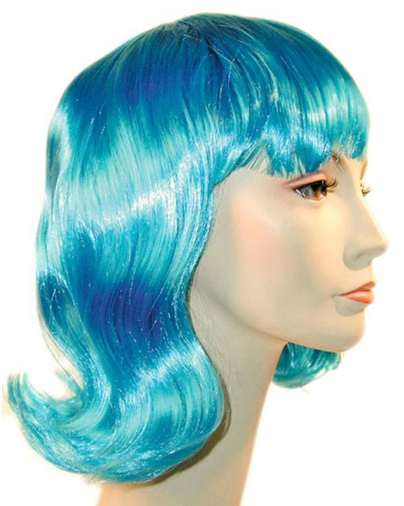 Bargain 1960s Lucy Flip Ginger Hairdo Wig by Lacey Costume Costume Wigs