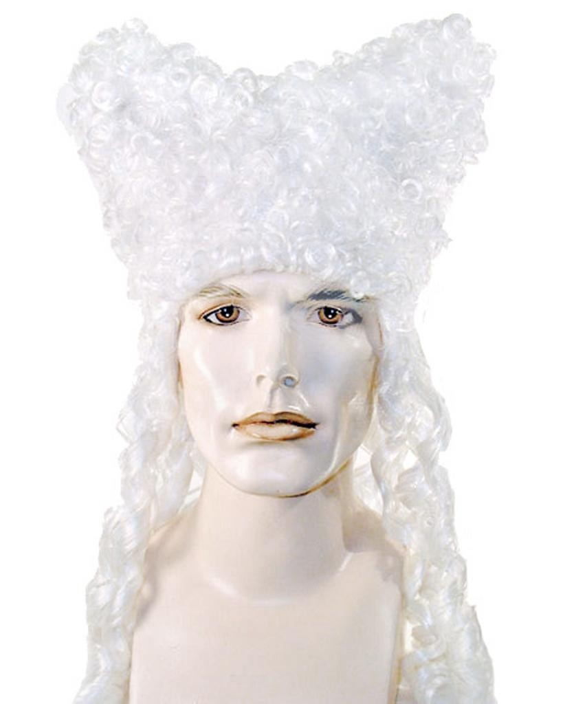 Colonial Party Gentleman French King Theater Wig by Lacey Costume Costume Wigs