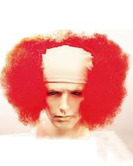 Bald Curly Clown Deluxe - Flesh Cloth Front
