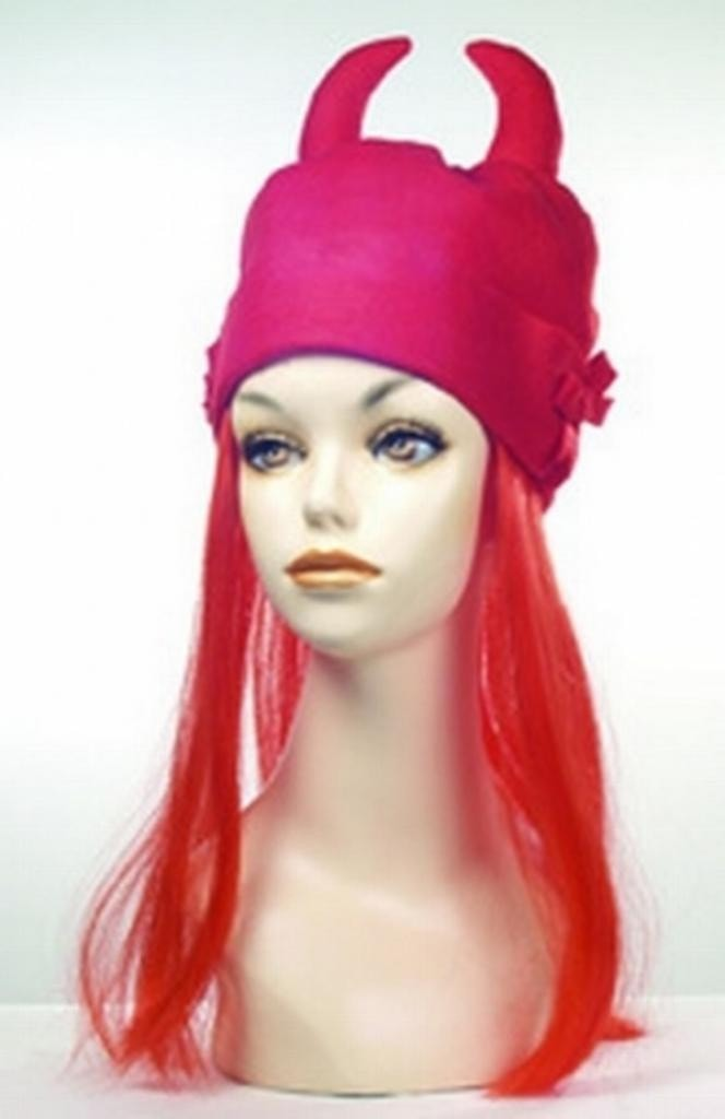 Devil Hat by Lacey Costume Costume Wigs