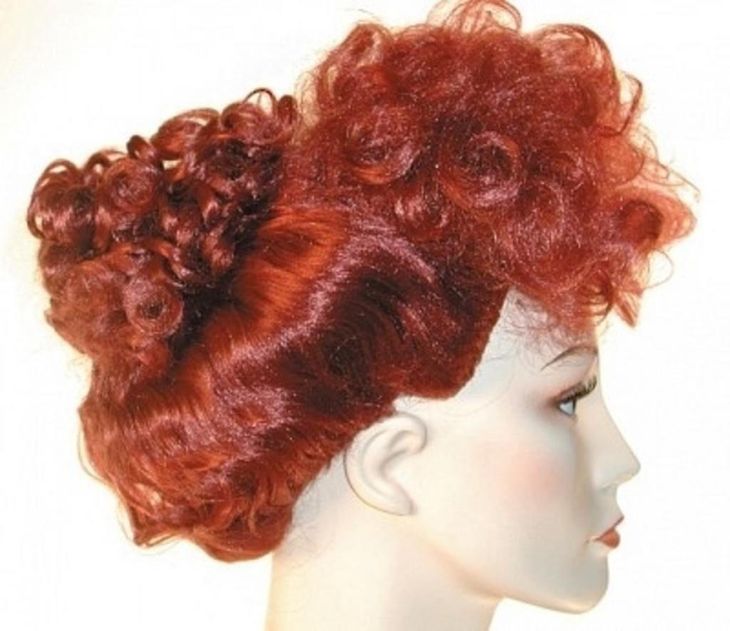 Discount Lucille Ball 1950s I love Lucy Wig by Lacey Costume Costume Wigs