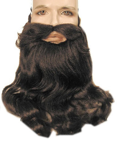 Deluxe Hillbilly Santa Orthodox Beard Mustache Set by Lacey Costume Costume Beards