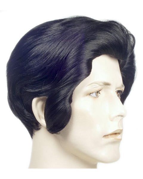 Deluxe Elvis Presley Ultimate King Wig by Lacey Costume Costume Wigs