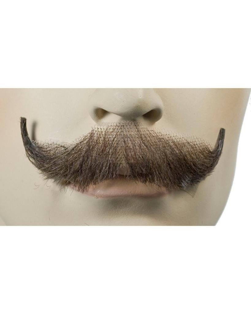 English Human Hair Handmade Mustache by Lacey Costume Costume Mustaches