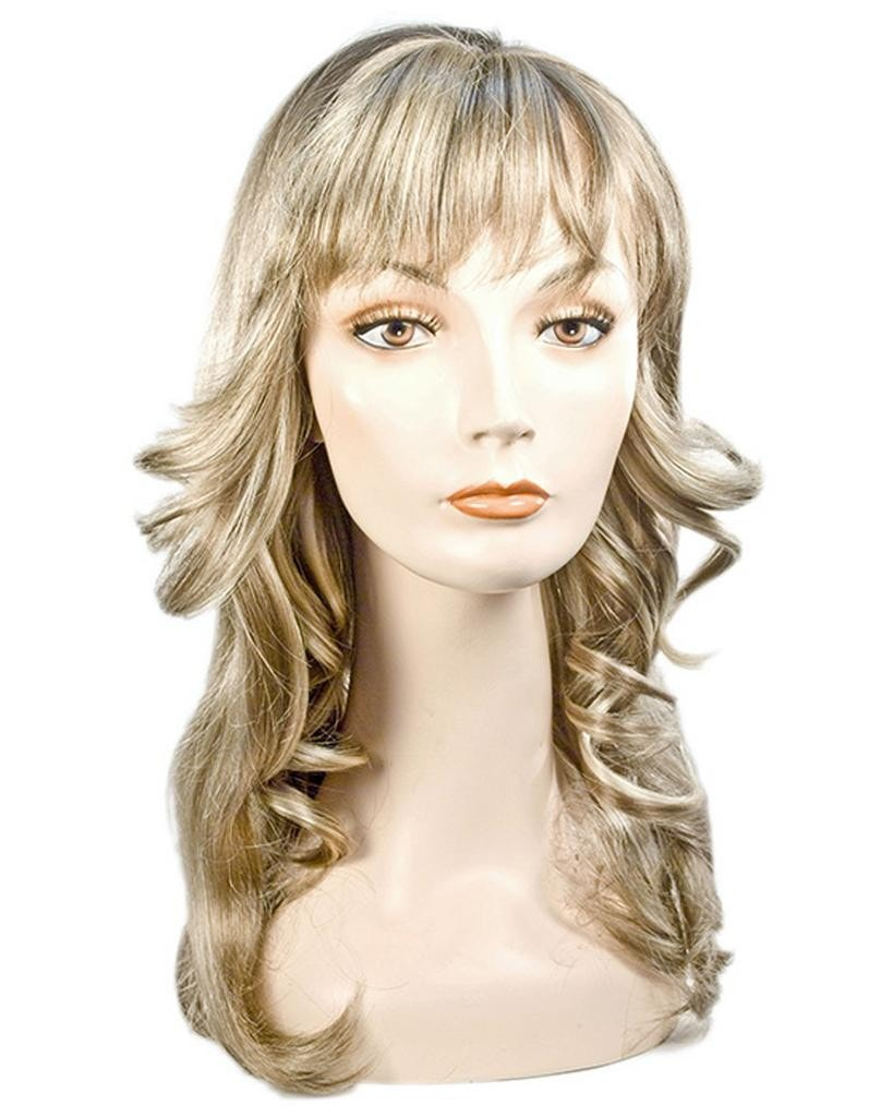 Feathered Farrah Fawcett 1970s Charlie's Angel Wig by Lacey Costume Costume Wigs