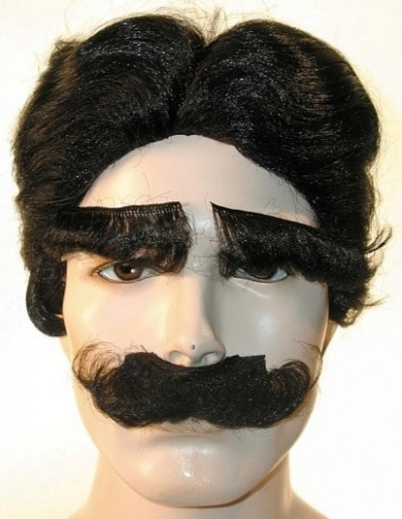 Groucho Marx Brothers Wig Eyebrows Mustache Set by Lacey Costume Costume Wigs