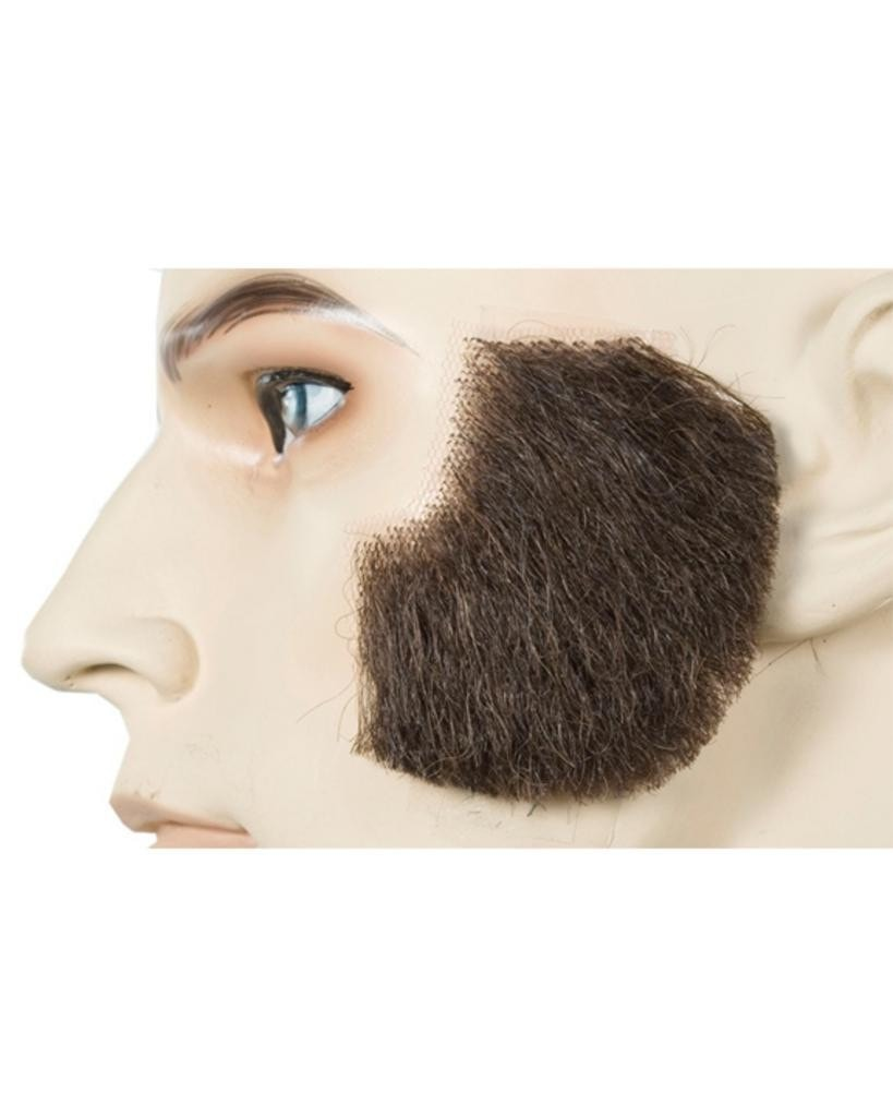Human Hair Muttonchops Men's Facial by Lacey Costume Costume Sideburns