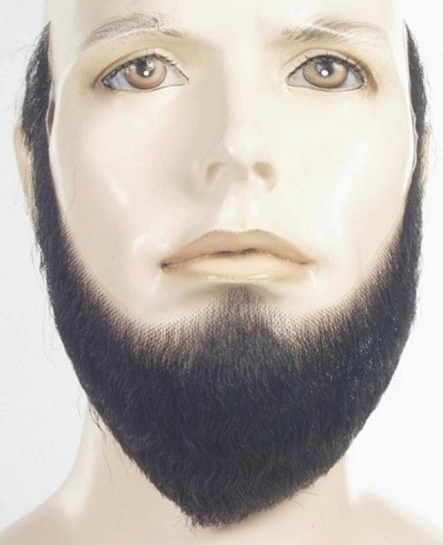 Human Hair Full Faced Beard HX-4 by Lacey Costume Costume Beards