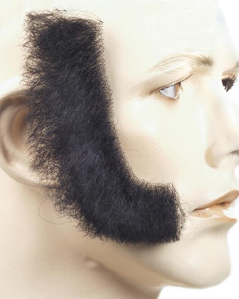 Human Hair Long Sideburns by Lacey Costume Costume Sideburns