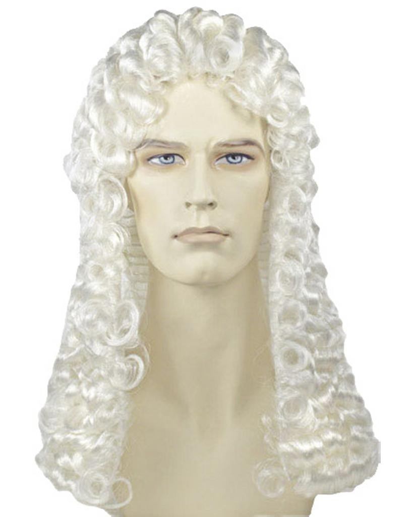 Deluxe Judge Colonial Parliament Wig by Lacey Costume Costume Wigs