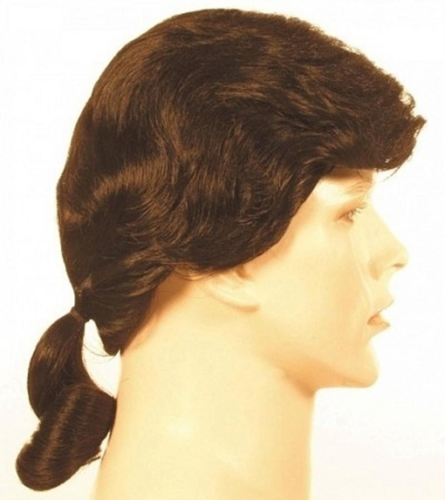 Men S Ponytail Colonial Patriot American Revolution Wig By