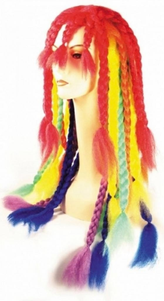 Rainbow Dreadlock by Lacey Costume Costume Wigs