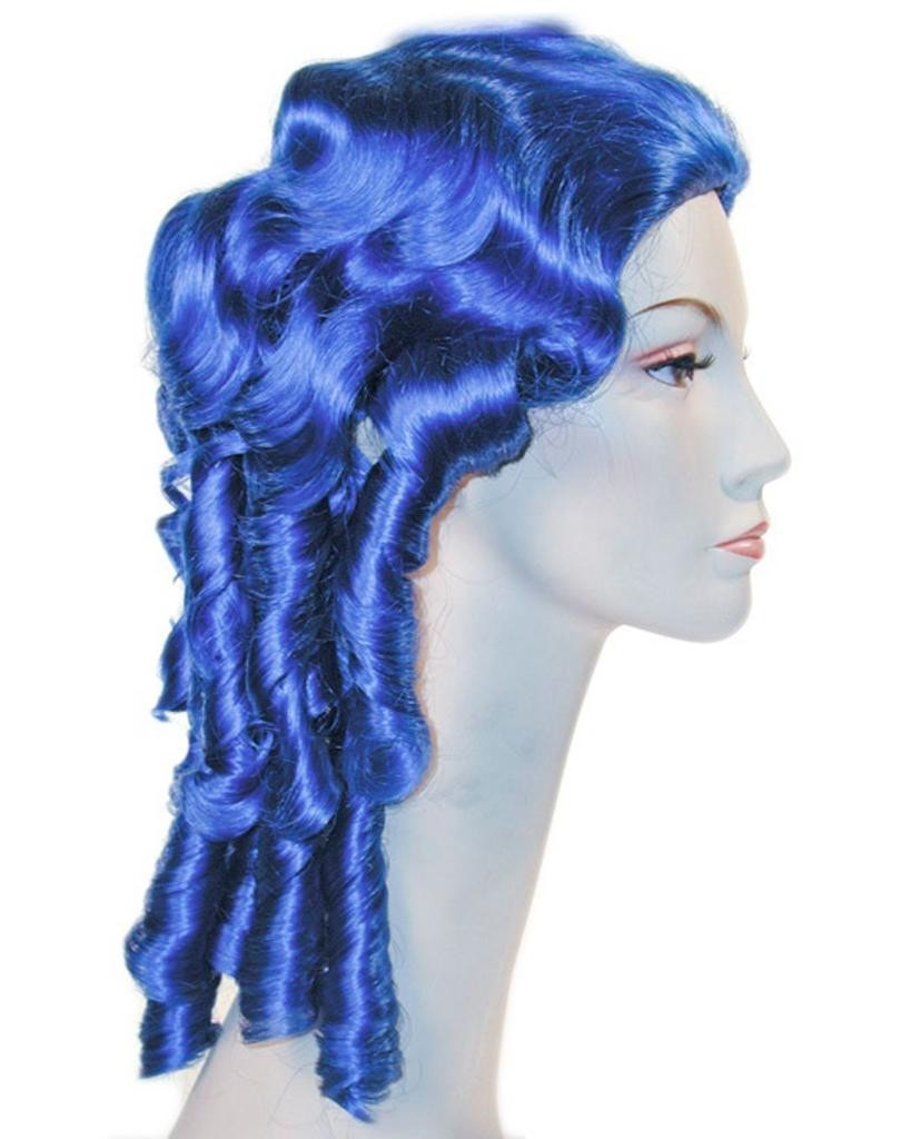 Southern Belle Wig Clown Colors Mardi Gras Wig by Lacey Costume Costume Wigs