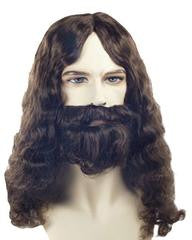 Special Bargain Jesus Biblical Wig Set AT833/AT1622