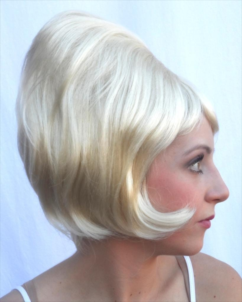 Lacey Costume Bargain Beehive Spitcurl CLEARANCE - MaxWigs