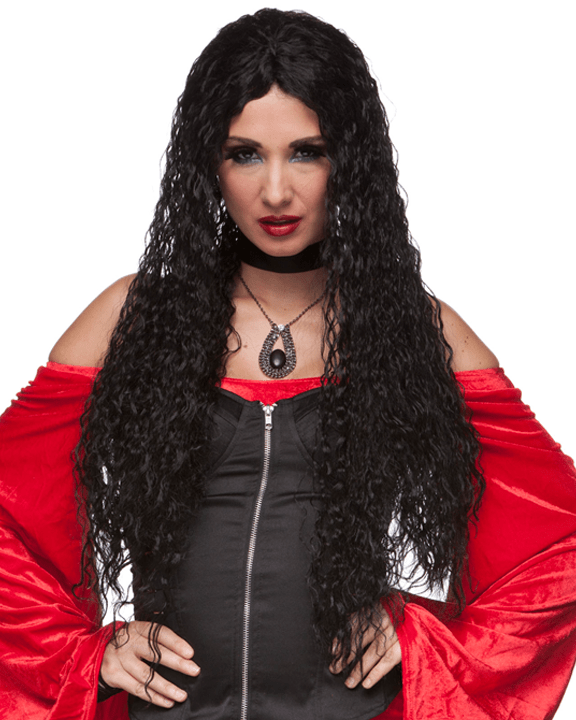 Sepia Long Kinky Witch - MaxWigs