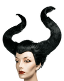 Lacey Costume Maleficent Fairy Horns - MaxWigs