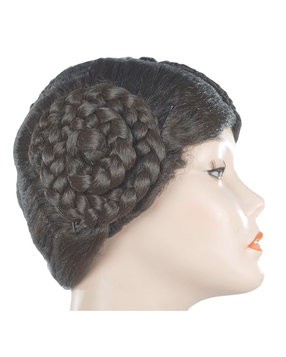 Lacey Costume Bargain Version Princess Leia Star Wars Leah Wig - MaxWigs