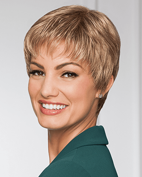 Eva Gabor Pixie Perfect Petite - Short Monofilament Crown - MaxWigs