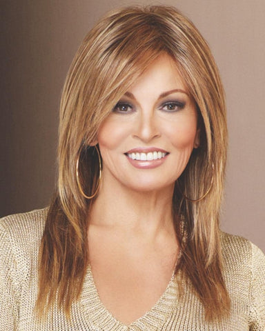 Raquel Welch Always - Heat Resistant Wavy Short Blunt Bob Double Monofilament - MaxWigs
