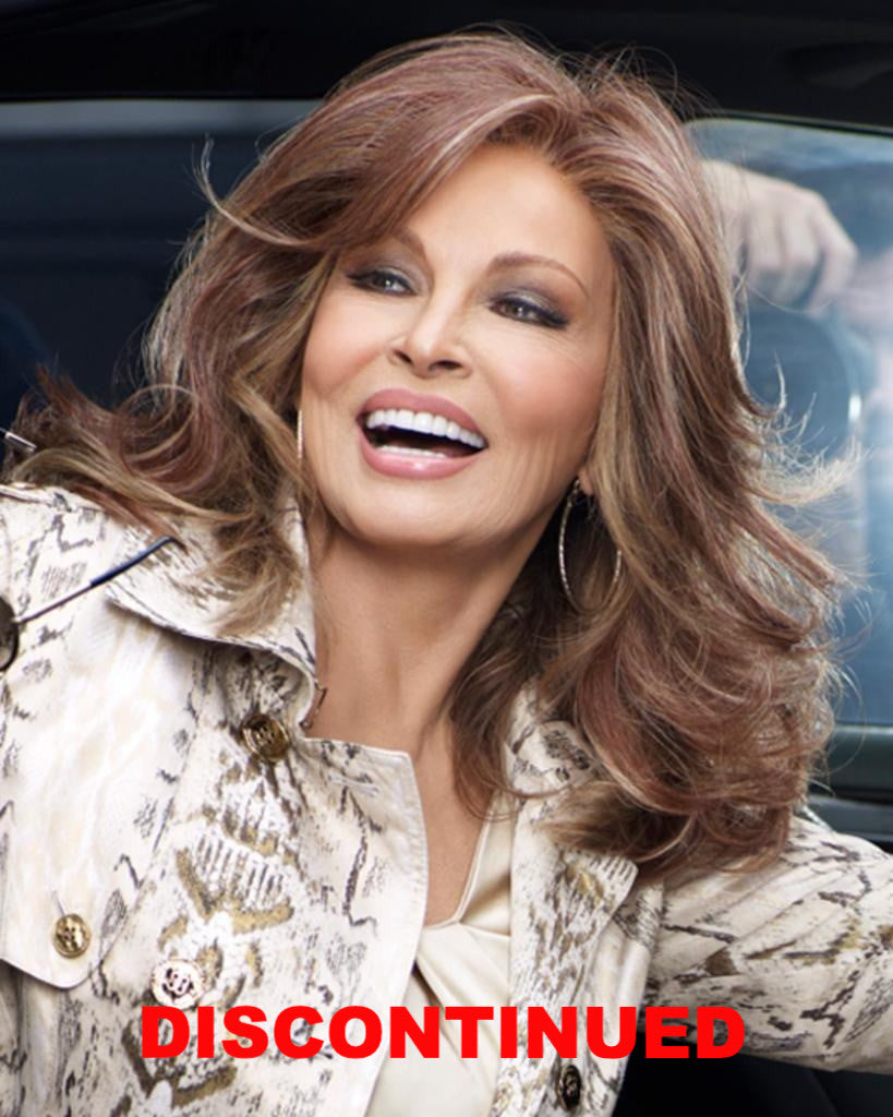 Camera Ready Monofilament Lace Front Long Wavy by Raquel Welch Wigs