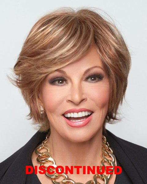 City Life Short Lace Front Monofilament Top by Raquel Welch Wigs