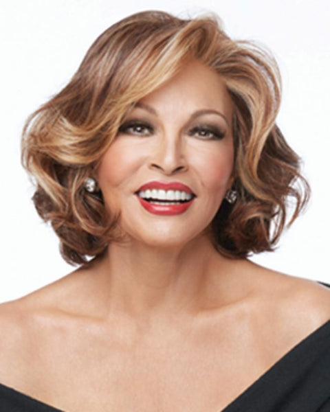 Crowd Pleaser Wavy Mono Part Lace Front by Raquel Welch Wigs