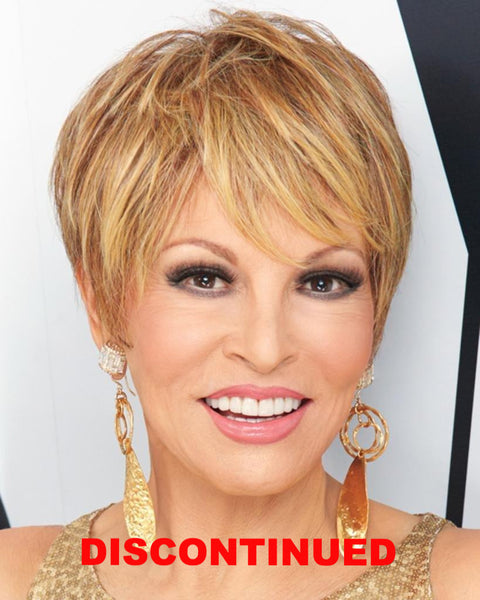 Cutting Edge Feathered Crop Monofilament by Raquel Welch Wigs