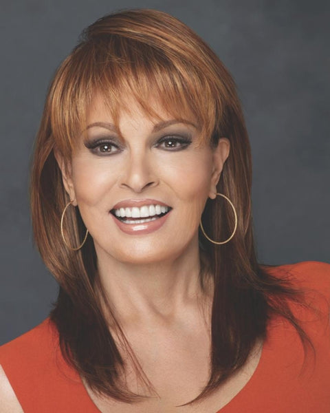 Enigma Blunt Bang Jagged Ends by Raquel Welch Wigs